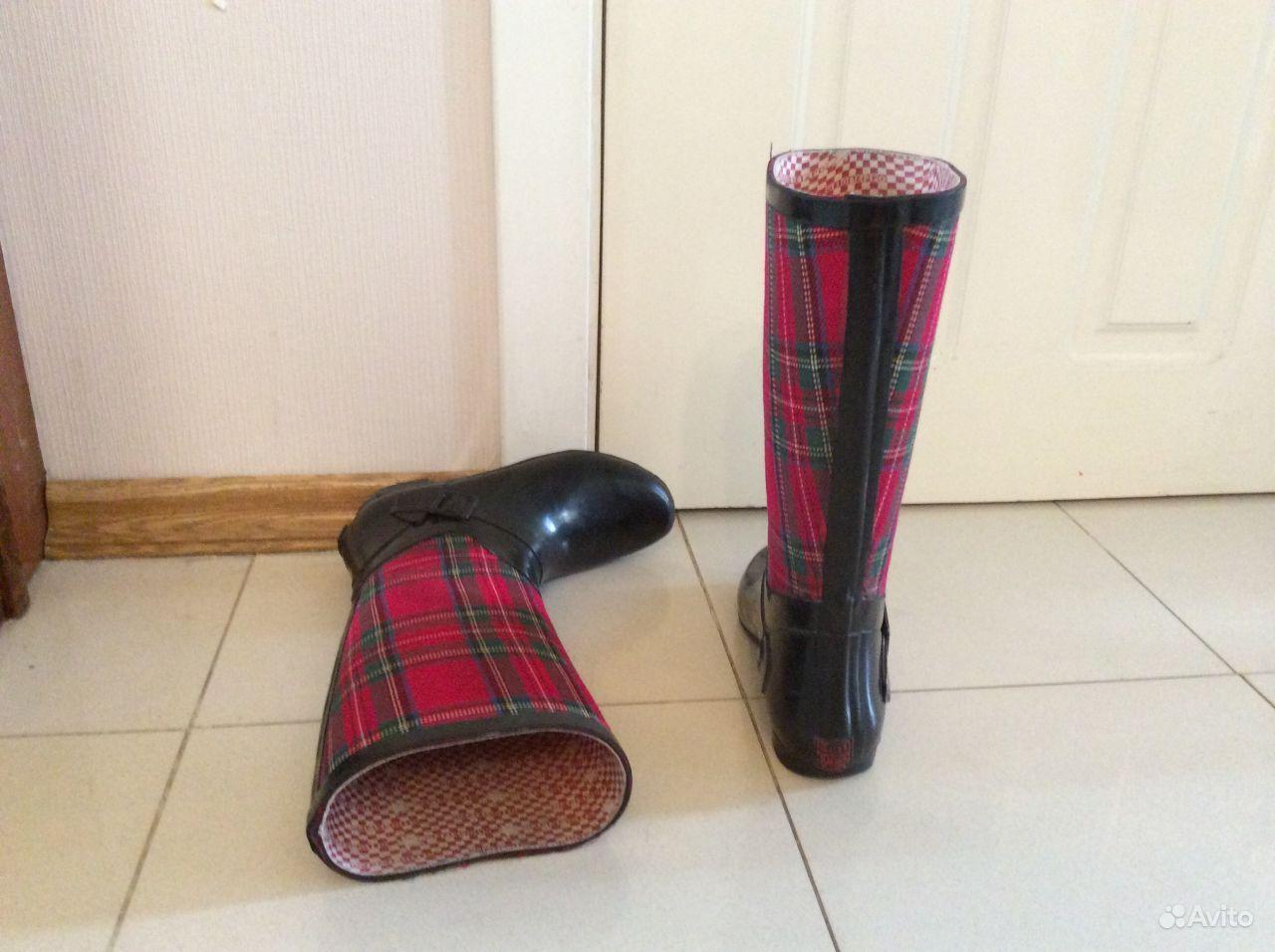 Сапоги резиновые женские, обувная фабрика Кедр
