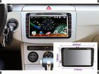 "Автомагнитолла 8"" HD DVD GPS 3G for skoda octavia"