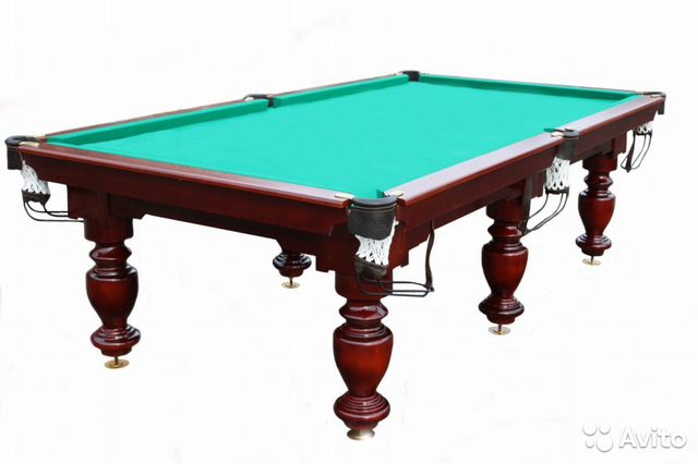 Бильярдный стол  цены 10 футов