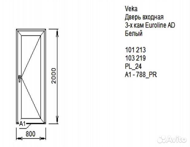 входные двери профиль пвх