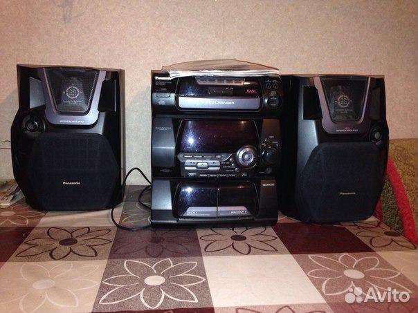 центр Panasonic SA-AK 40