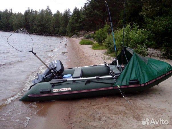 лодка поливинилхлоридный  ниссамаран 380 цена