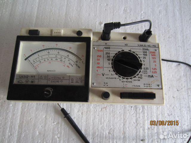 прибор Ц 4342-М1 тестер