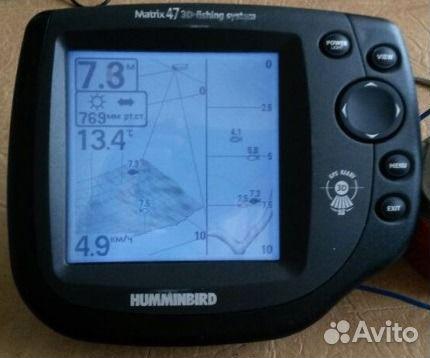 цена эхолот humminbird matrix 47 3d цена