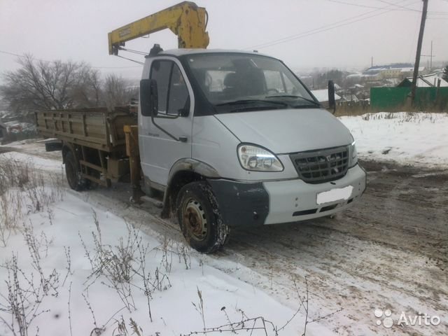 Кран-манипулятор на шасси ГАЗ 331 6 Валдай - купить