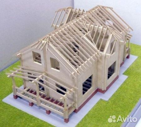 Сделать модель дома своими руками
