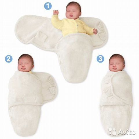 Пеленка конверт для новорожденных