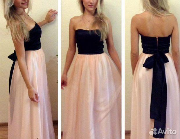 Легкое вечерние платье своими руками