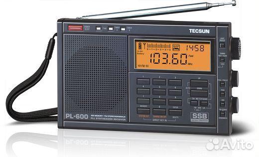 """В продаже Приемник  """"tecsun """" PL-600 по выгодной цене c фотографиями и описанием, продаю в Санкт-Петербург - Приемник..."""