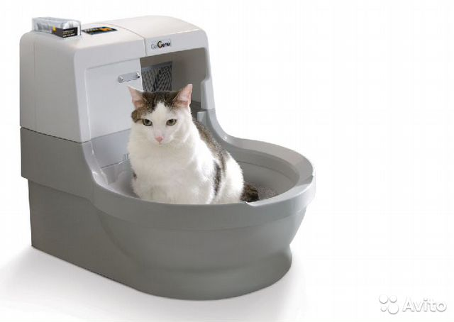 120 автоматический туалет для кошек
