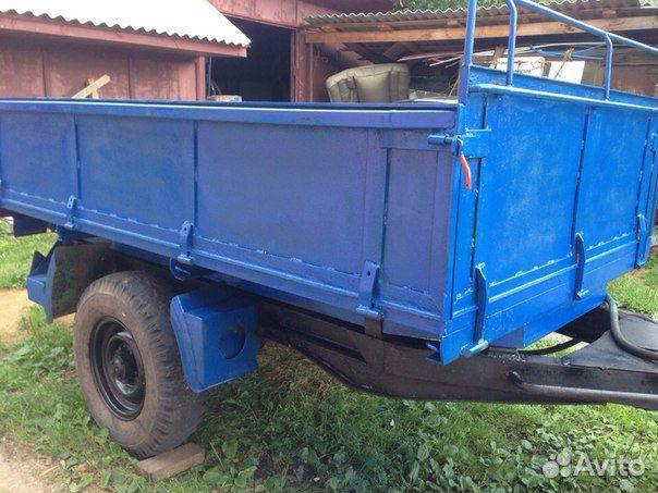 Телеги и прицепы для тракторов - купить по цене от 11 300.
