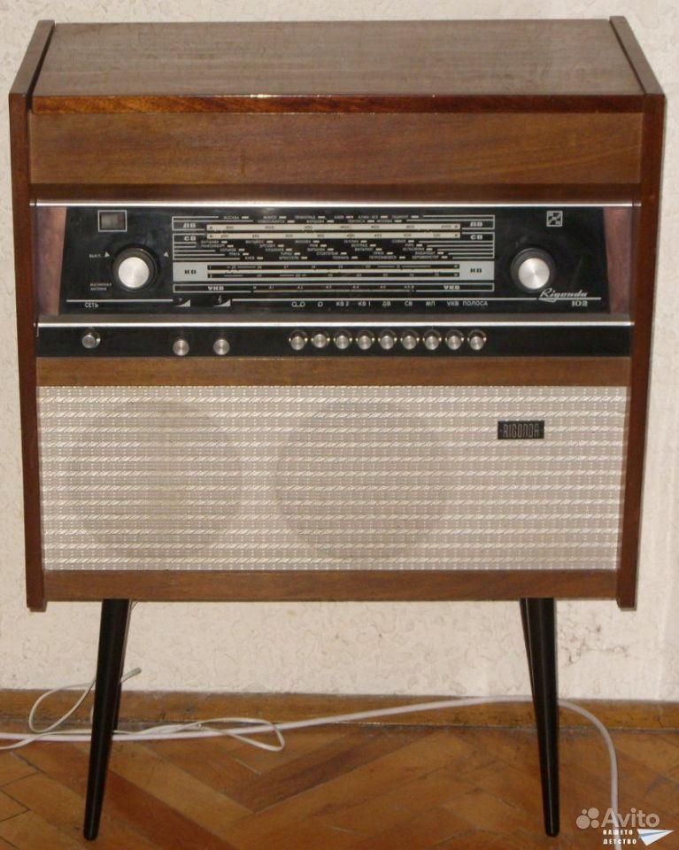 Rigonda Symphony Radio Radiotehnika RT  Radiomuseumorg