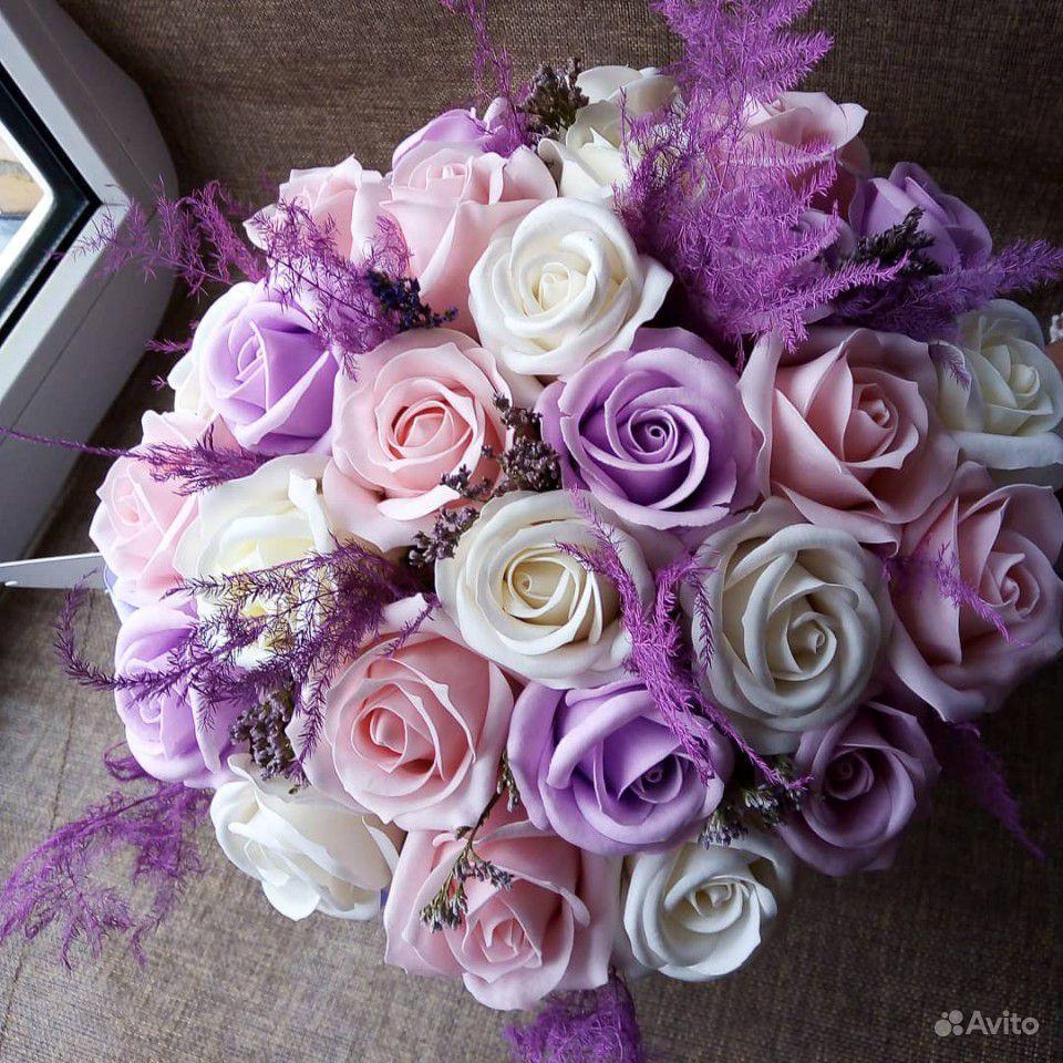 Мыльные цветы купить на Зозу.ру - фотография № 7