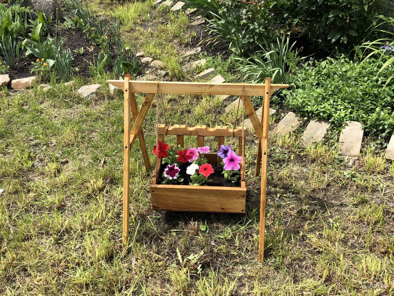 Горшок (кашпо) для цветов купить на Зозу.ру - фотография № 1