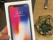 iPhone X 64Gb 256Gb новый