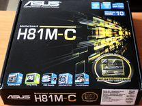 Asus H81M-C/ B85M-E/ GA-H61M-S2PV новые 1150/1155