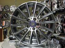 Новые диски R18 5x112 на Mercedes Разноширокие