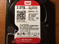 "Продам HDD WD RED PRO 2 Tb 3,5"" 7200 об"