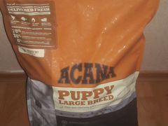 Корм Acana (для щенков крупных пород)
