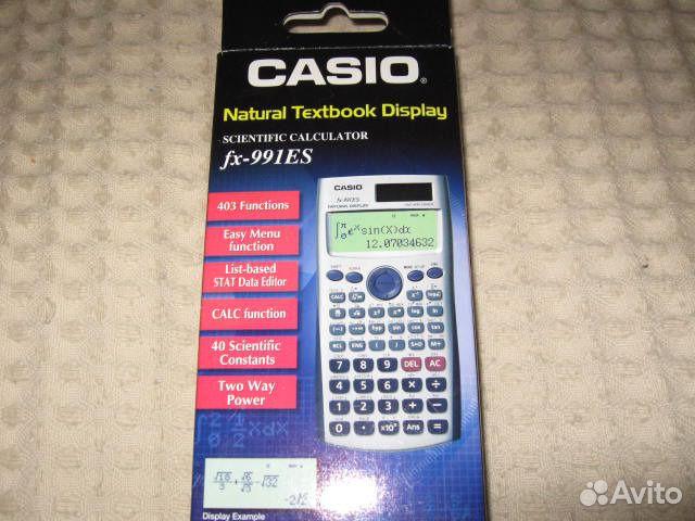 Casio fx-991es инструкция, характеристики, форум.
