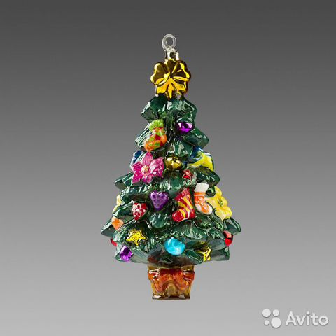 Елочная игрушка Санта супермодного ... 49a09f990c6