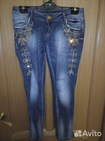 17eb8f6f45f Классные расшитые джинсы купить в Самарской области на Avito ...