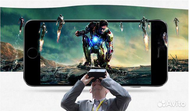 Реклама очков виртуальной реальности светофильтр nd16 spark в наличии