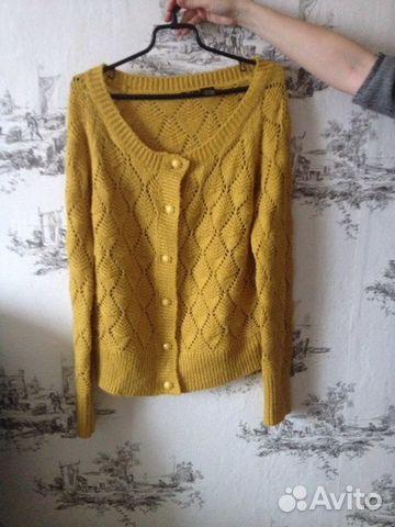 свитер вязаный жёлтый Festimaru мониторинг объявлений