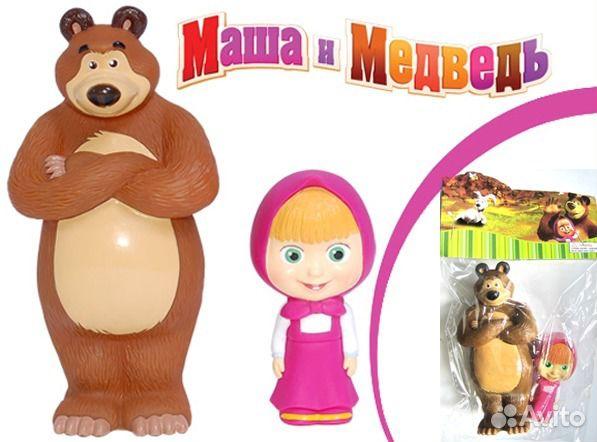 купить фигурки маша и медведь