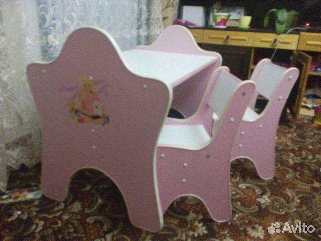 Столик и стульчик детский авито иркутск