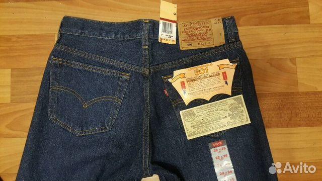 5cd3eca0166e Джинсы Levis 501 made in USA 32x36 купить в Санкт-Петербурге на ...