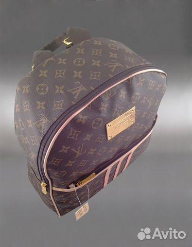 9b321792eabc Рюкзак унисекс Louis Vuitton арт.819-2 купить в Москве на Avito ...