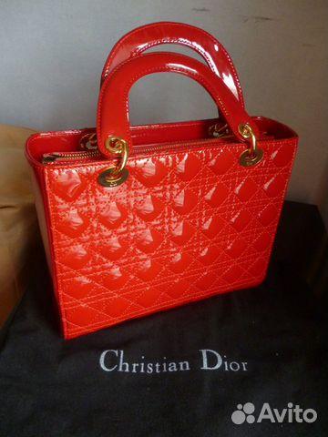 Сумка Dior оригинал купить в Москве, цена 45 000 руб