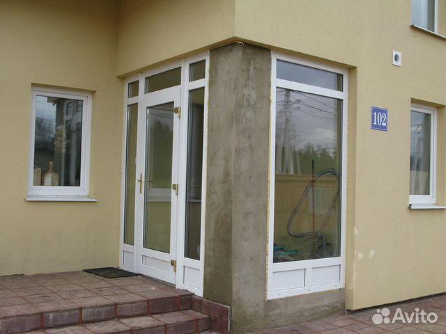 установка входной двери пвх в москве