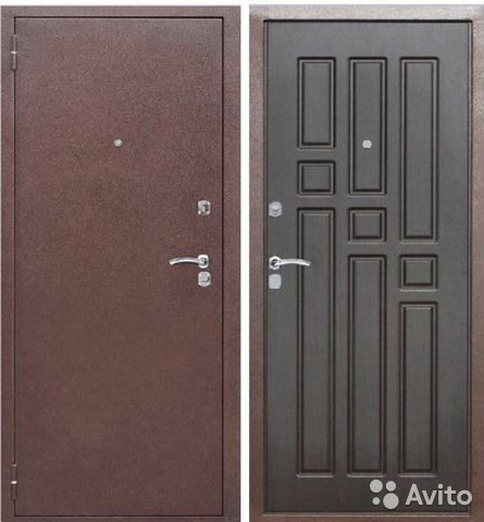 недорогие металлические входные двери цены