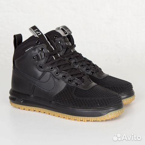 038d71d6 Кроссовки Черные Nike Air Force 1 duckboot | Festima.Ru - Мониторинг ...