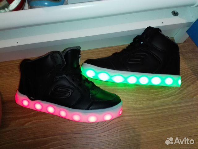 Кеды детские Skechers Energy Lights купить в Краснодарском крае на ... 7166a3533c3