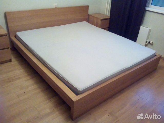 кровать и мебель для спальни Ikea мальм Festimaru мониторинг