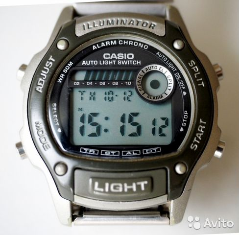 922a7115 Мужские часы Casio illuminator W-94H будильник купить в Москве на ...