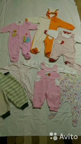 952eb6bf7 Пакет детских вещей для девочек - Личные вещи, Детская одежда и обувь -  Москва - Объявления на сайте Авито