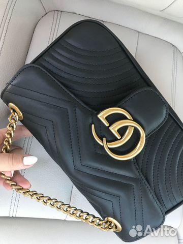 1c4790d9d617 Сумка Gucci GG Marmont на цепочке Клатч Гуччи   Festima.Ru ...