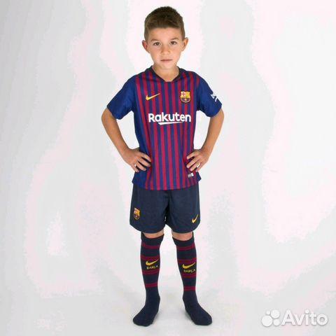 Футбольная форма Барселона 18-19 купить в Москве на Avito ... a97fe3191f9