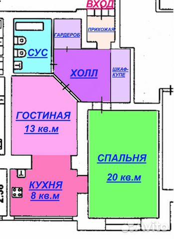 Продается двухкомнатная квартира за 7 850 000 рублей. улица Семашко, 4к3 СТУДИЯ.