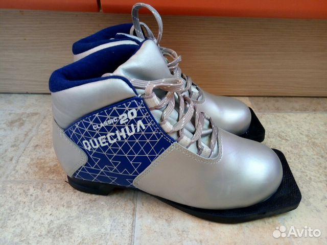 Детские лыжные ботинки, р. 33   Festima.Ru - Мониторинг объявлений f0ed9708147