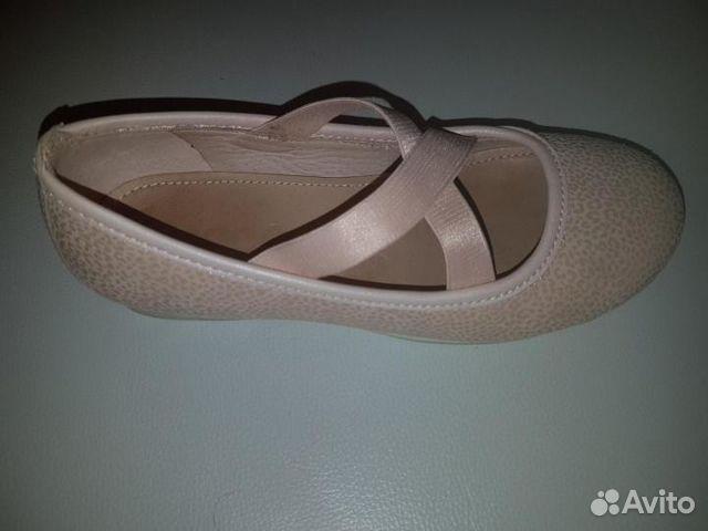Туфли на девочку нат. кожа ecco 89195669190 купить 2