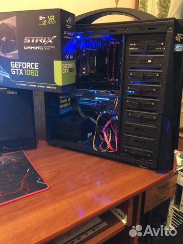 Мощный i7 3770k GTX 1060 6gb Игровой компьютер