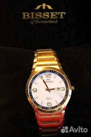 Швейцарские наручные часы Bisset