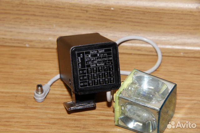 Винтажная вспышка Konica на магниевых кубиках 89052471031 купить 5