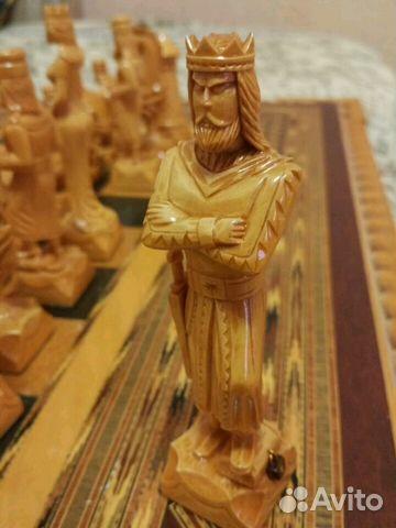 шахматы ручной работы из дерева купить в краснодарском крае на Avito