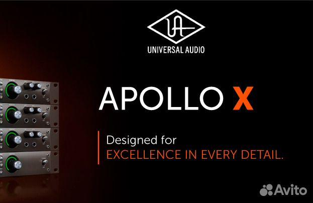 Universal audio Apollo x6 x8p x16 mk3 new